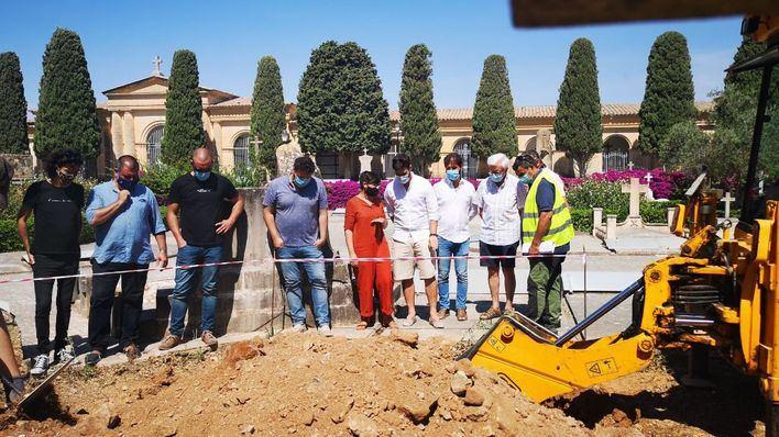 Comienza la exhumación de cadáveres de la Guerra Civil en Manacor