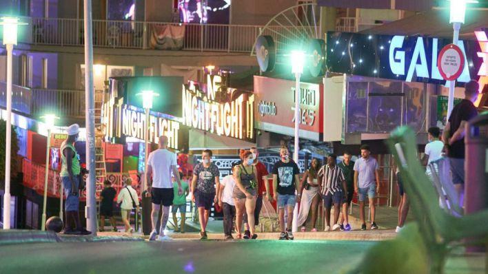 El Govern al turismo de borrachera: 'No queremos turistas así, que no vengan'