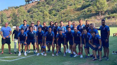 El Atlético Baleares ya está en Mijas, donde prepara el crucial choque frente al Cartagena