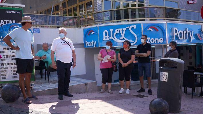 Los empresarios de Punta Ballena y Playa de Palma demandan al Govern por el decreto de cierre