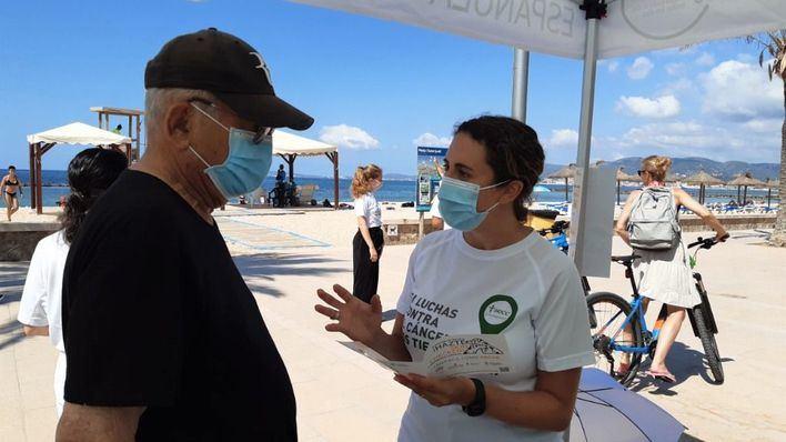 Arranca la campaña de la AECC sobre el cáncer de piel, del que se diagnostican 400 casos al año en Baleares