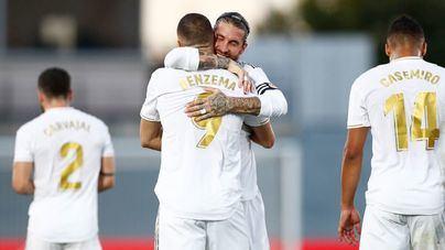 El Real Madrid vence al Villarreal y ya es campeón de Liga