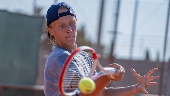 El hijo del mítico tenista Bjorn Borg se entrena en Manacor a las órdenes de Toni Nadal