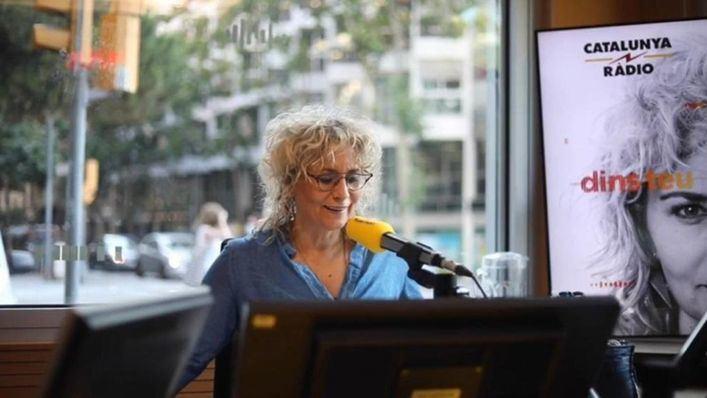 Mònica Terribas se despide en directo tras siete temporadas en Catalunya Ràdio