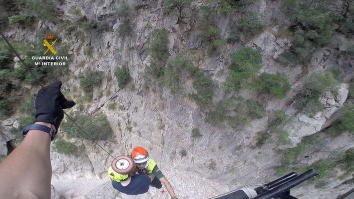 Siete rescates de montaña en apenas 5 días