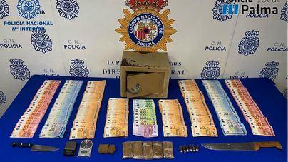 Detienen a un hombre que vendía drogas en la calle, casas y establecimientos en Can Pastilla