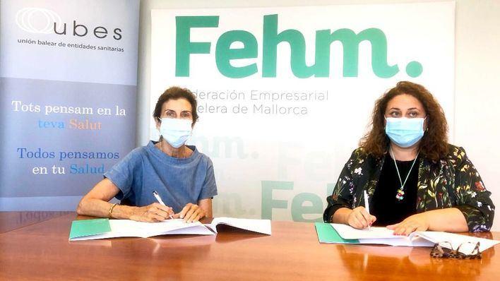 Coronavirus: La FEHM y la patronal sanitaria firman un acuerdo de servicios para los trabajadores de los hoteles