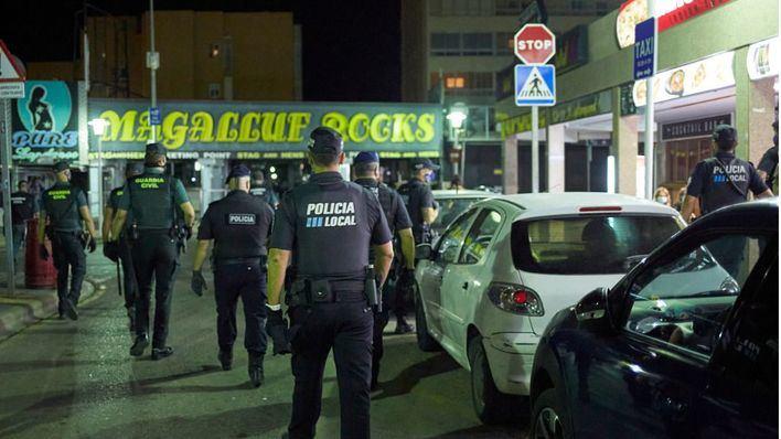 Levantan actas en dos locales de Magaluf por no cumplir la prohibición de abrir al público