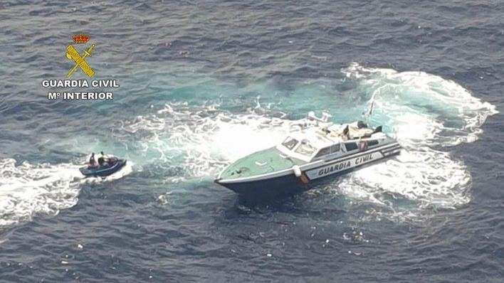 La Guardia Civil tramita 23 actas en la costa de Calvià por fondeos irregulares
