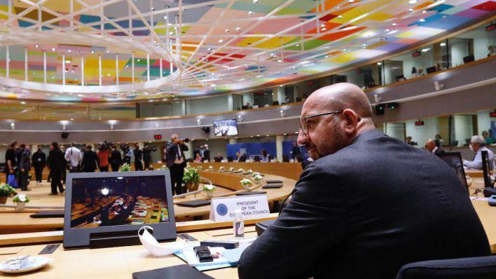 Los líderes europeos debaten una propuesta para diversificar el fondo entre subvenciones y préstamos