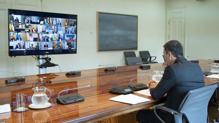 Pedro Sánchez reunirá a los presidentes autonómicos para informarles sobre los fondos europeos