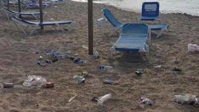 Las juergas y botellones de Punta Ballena se desplazan a las playas de Santa Ponça y Magaluf
