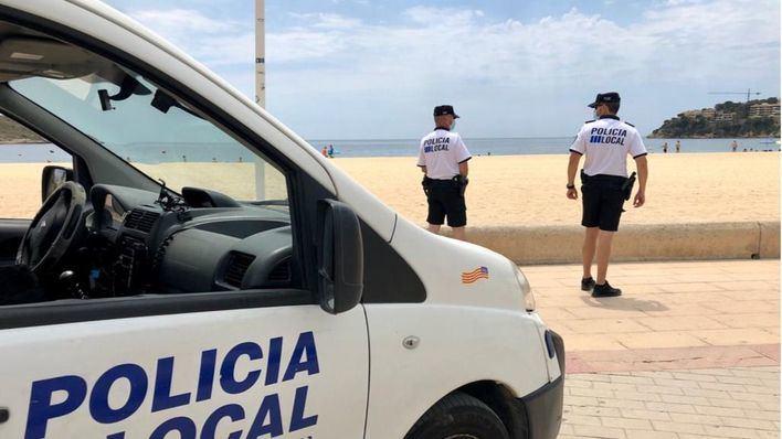120 agentes refuerzan las zonas turísticas de Palma