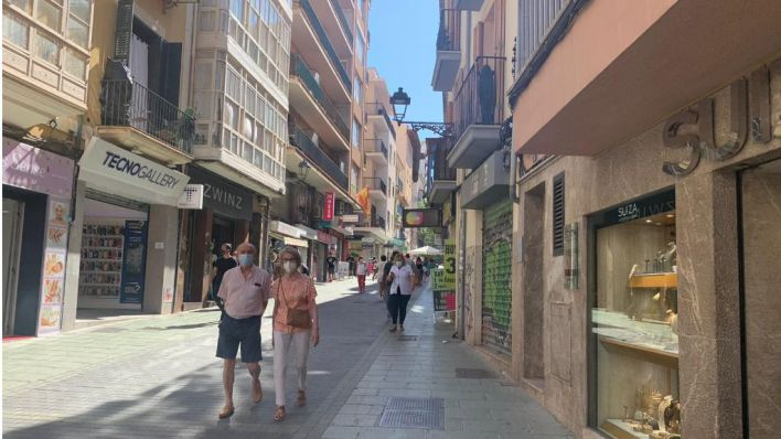 Palma: 30 multas por no llevar mascarilla desde el lunes