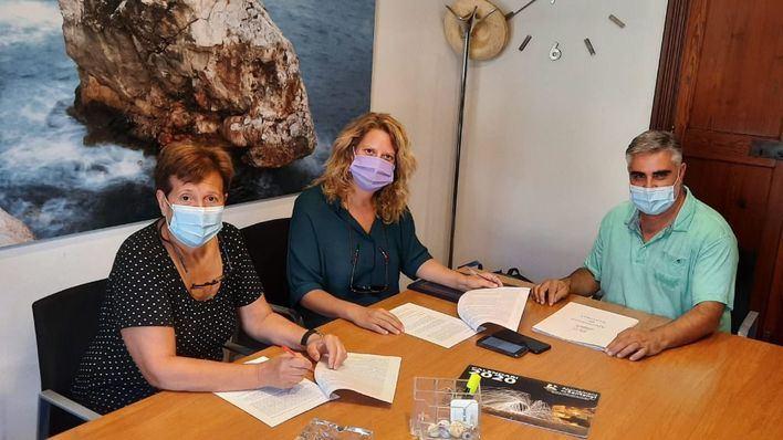 Santanyí firma un acuerdo para impulsar la reactivación de los autónomos