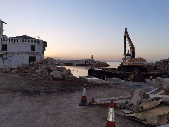 El Marítimo Molinar critica tener que dejar el espacio cedido por APB sin haber acabado las obras