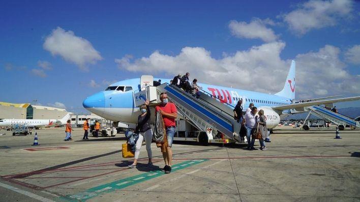 TUI mantiene sus vuelos a Baleares