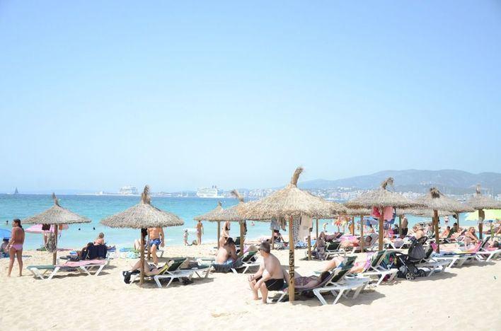 Mallorca se enfrenta hoy a temperaturas que rozarán los 38 grados