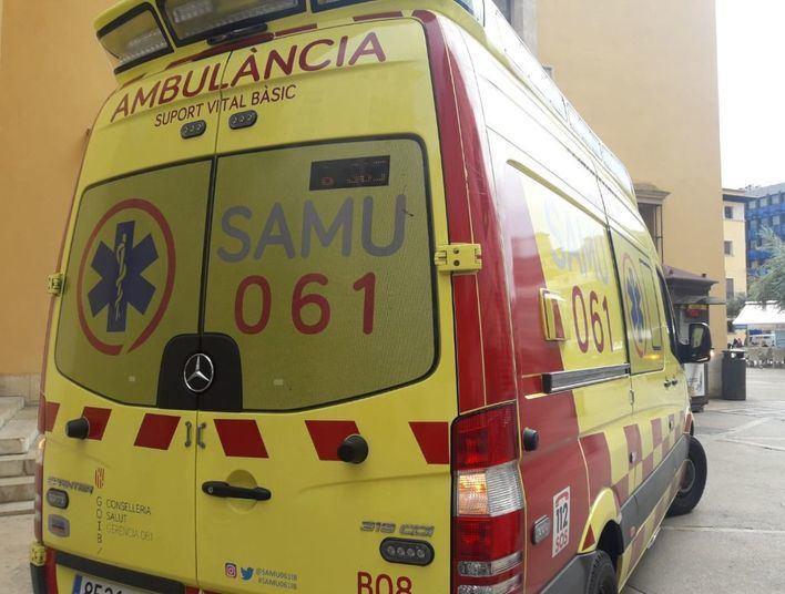 Una niña de dos años, muy grave tras caer desde un tercer piso en Palma