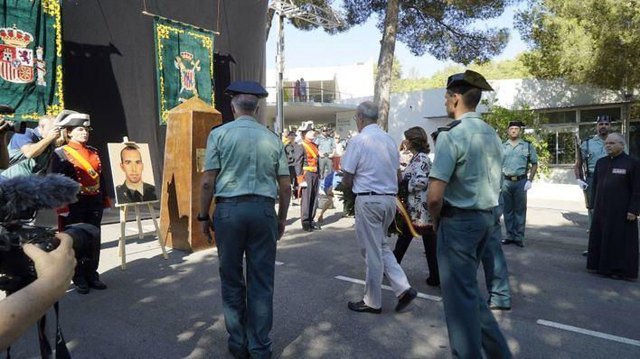 Calvià homenajea a los guardias civiles asesinados por ETA hace once años