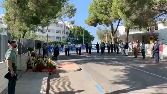 Calvià recuerda a los guardias civiles asesinatos por ETA en Palmanova: 'Siguen en nuestra memoria'