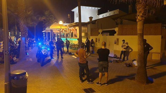 Levantadas 29 actas por diversas infracciones en la Playa de Palma