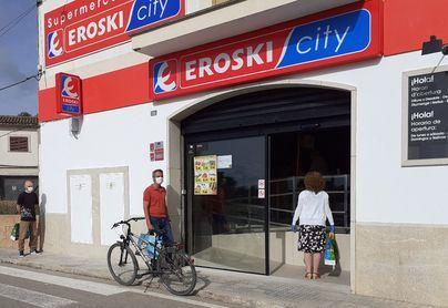 Eroski sigue aumentando sus ventas de producto balear