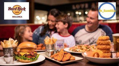IBFamilia y Hard Rock Cafe Mallorca se unen en favor de las familias: por cada adulto, un niño come gratis