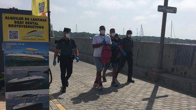 Llegan dos nuevas pateras a Mallorca y Formentera, con un total de 27 migrantes a bordo