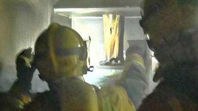 Alarma en Son Rapinya por un incendio en una cocina