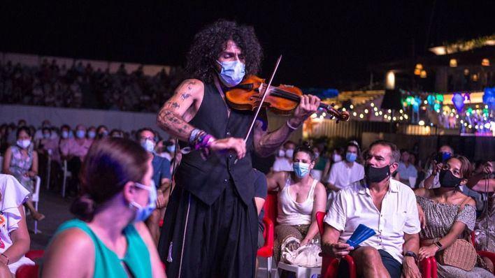 Ara Malikian brilla en el Port Adriano Music Festival