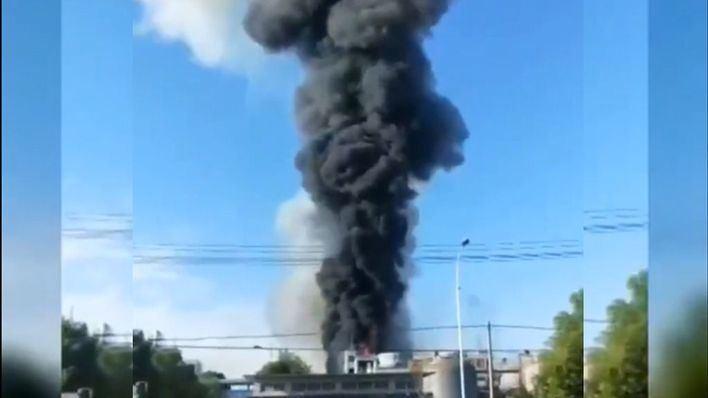 Seis muertos por una explosión en una fábrica de productos químicos en China