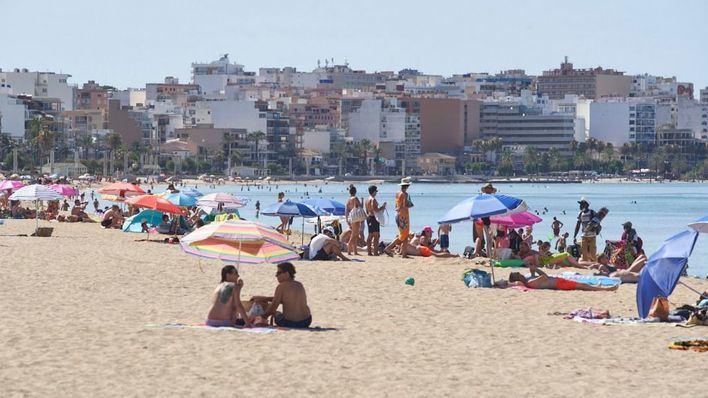 Pocas nubes y subida de temperaturas en Baleares