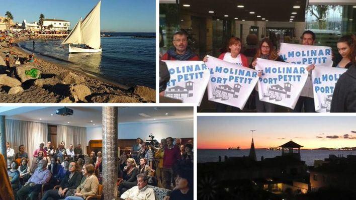 'Al Molinar, Port Petit' resume en un vídeo sus siete años de movilizaciones