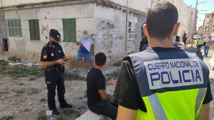 Doce detenidos en un gran operativo antidrogas en Camp Redó