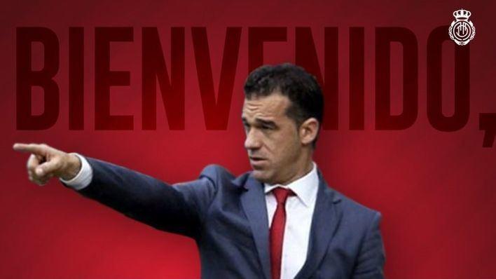 Luis García Plaza, nuevo entrenador del RCD Mallorca