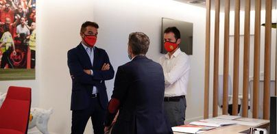 Luis García: 'Venir al Mallorca es un reto muy importante para mi'