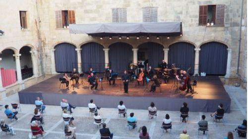 La Sinfónica inaugura el Festival de Pollença