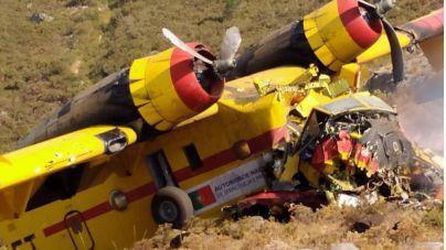 Fallece uno de los pilotos del hidroavión siniestrado en Ourense