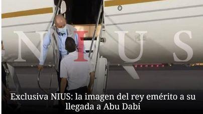 Una foto sitúa a don Juan Carlos en Emiratos Árabes