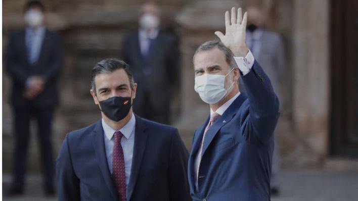 El rey recibe este lunes en audiencia a las autoridades de Baleares