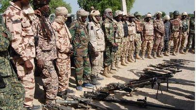 Imagen de una operación antiterrorista desarrollada por el ejército de y fuerzas multinacionales (2019) @HQNigerianArmy