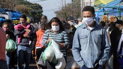 Brasil roza las 600 muertes por coronavirus en 24 horas