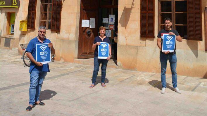 Santanyí instala wifi gratuito en diferentes puntos del municipio