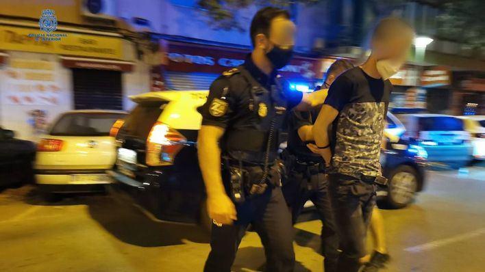 Detenido en Can Pere Antoni por tráfico de drogas