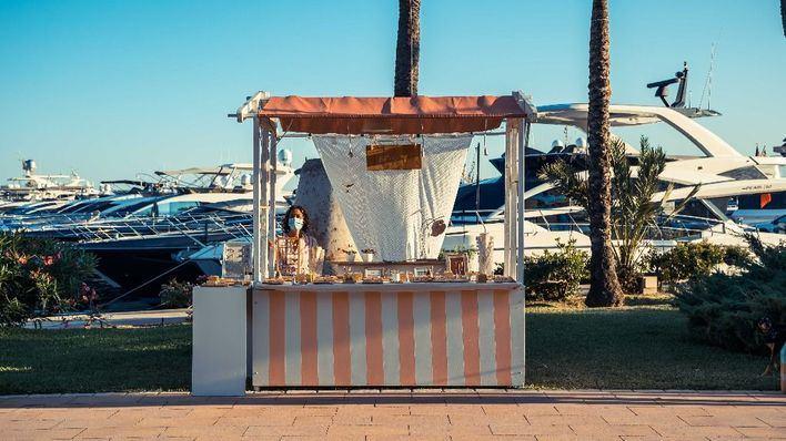The Sunset Market llena Puerto Portals de arte, cultura y gastronomía