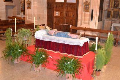 Los 'Llits de la Mare de Déu' se verán en 53 iglesias de Mallorca por la Asunción