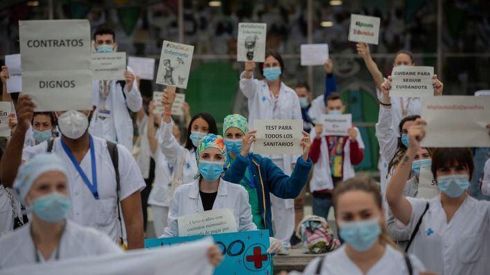 Los técnicos de Enfermería exigen respetar el descanso de los sanitarios en septiembre