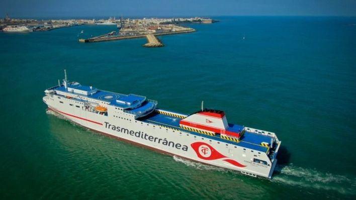 Armas Trasmediterránea incorpora a su flota el buque Ciudad de Valencia, el más moderno de Europa