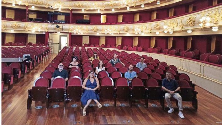 Rossy de Palma, Juan Perro y Ainhoa Arteta, en la reapertura del Teatre Principal